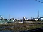 今日は暖かくなりそうです。こんな田舎に住んでいます。(^.^), V4010013.JPG