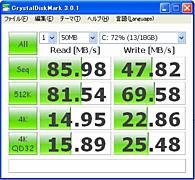 ベンチマークは上々, CSSD-PMM64WJ2-ベンチ.png